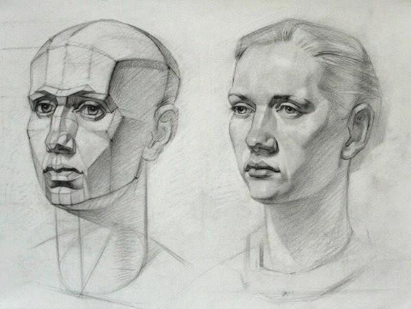 các bước vẽ chân dung
