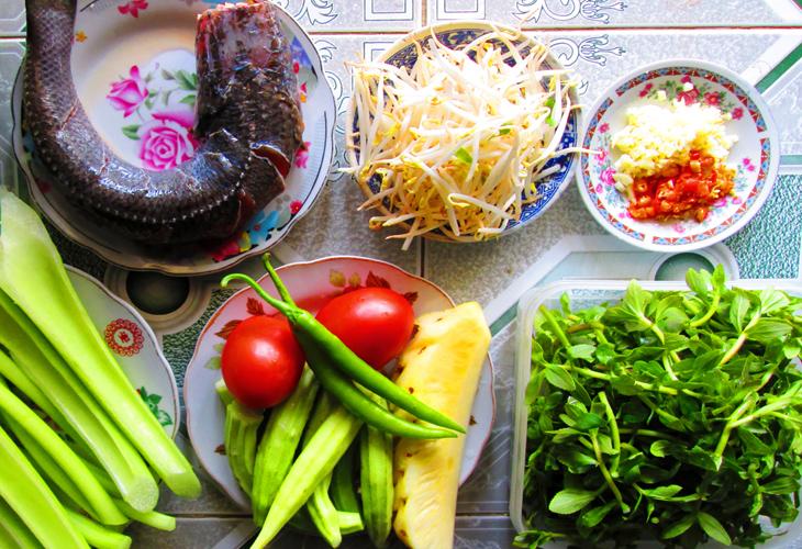 các món canh chua