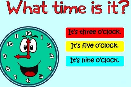 cách đọc giờ tiếng Anh