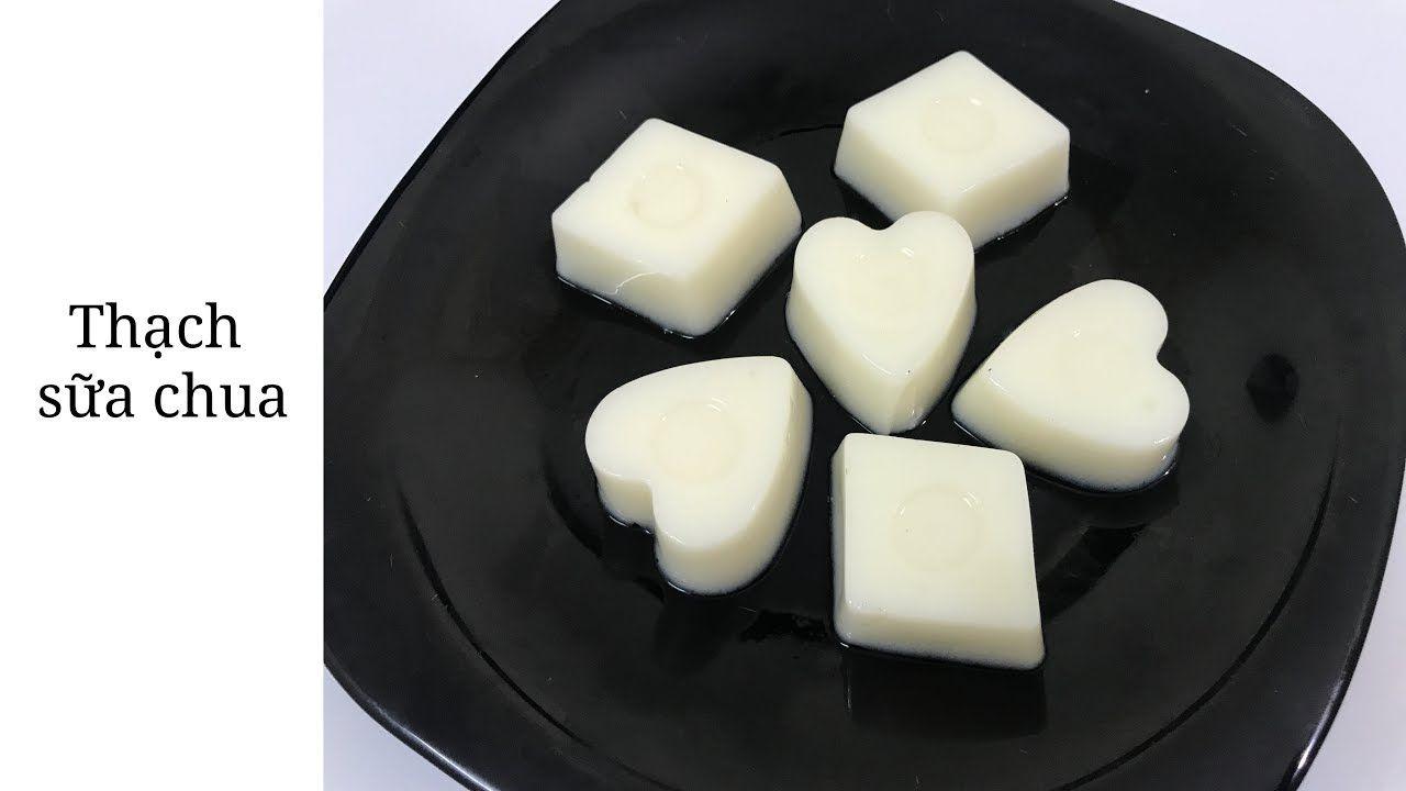 cách làm thạch sữa chua