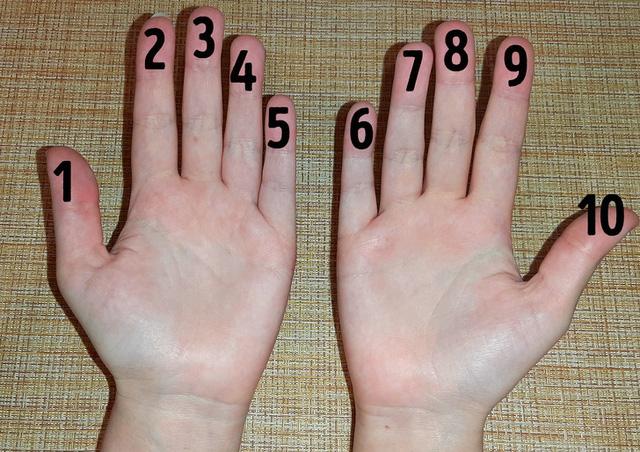 cách tính nhẩm nhanh bằng tay