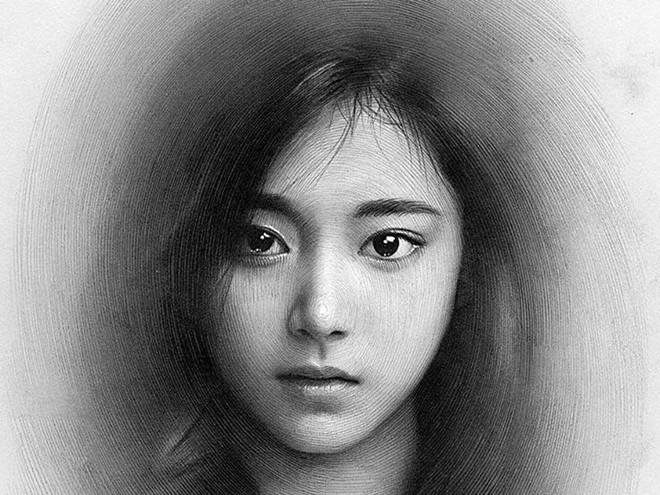 cách vẽ khuôn mặt người bằng bút chì