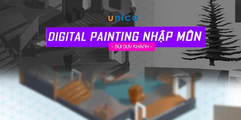 """khóa học """"Digital Painting Nhập Môn"""""""