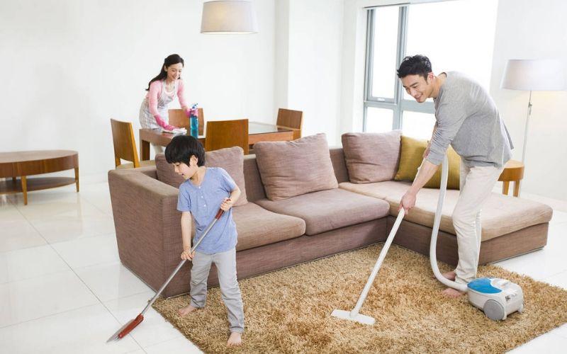 mẹo dọn nhà cửa nhanh đón Tết 2020
