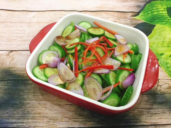 Salad dưa chuột