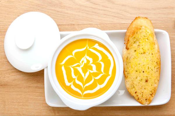 súp kem bí đỏ