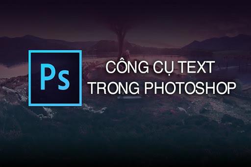 tạo chữ nghệ thuật trong Photoshop