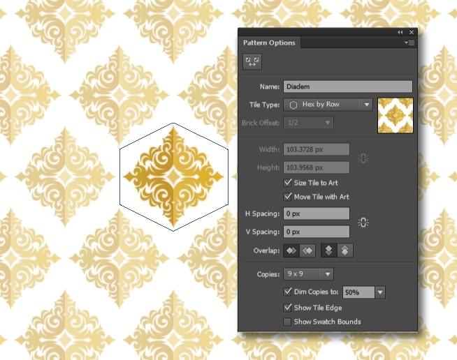 Tạo Pattern trong Illustrator