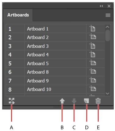 thêm Artboard trong AI