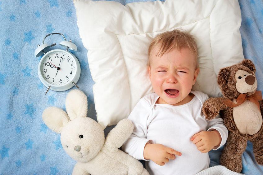 trẻ khó ngủ về đêm