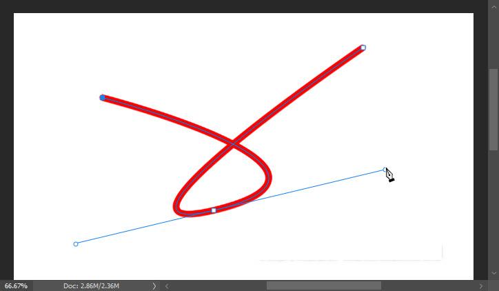 vẽ đường cong trong Photoshop