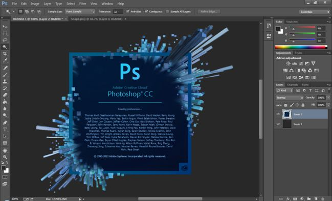 xuất file PDF trong Photoshop