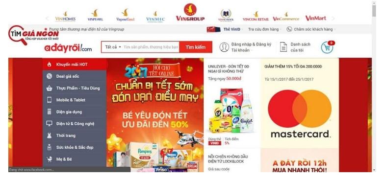 Affiliate chiến dịch thương mại điện tử – Chọn Tiki, Shopee, hay Adayroi