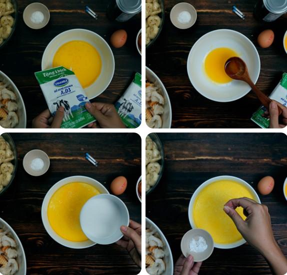 Cách làm bánh chuối nướng cốt dừa