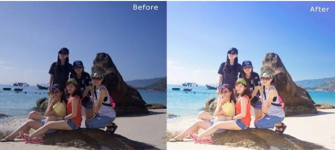 Blend màu trong Photoshop