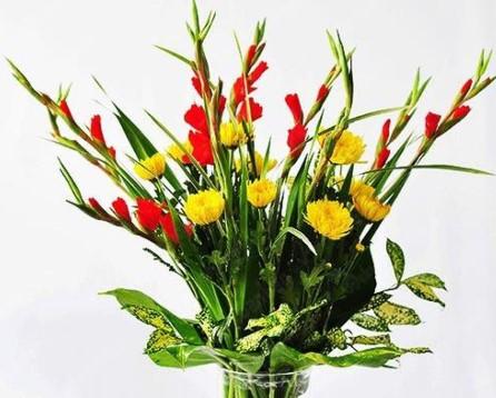 Cách cắm hoa cúc đẹp
