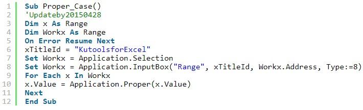 Mô tả cách chỉ viết hoa chữ cái đầu trong Excel. Hình 4
