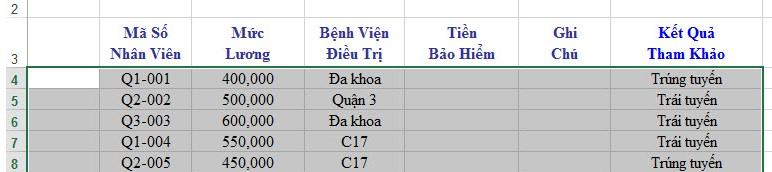 Cách giãn dòng trong Excel. Hình 4