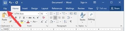 Cách kiểm tra lỗi chính tả trong Word. Hình 1