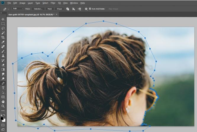 Công cụ Refine Edge trong Photoshop