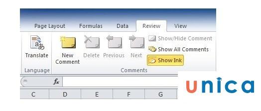 Cách tạo ghi chú trong Excel. Hình 3
