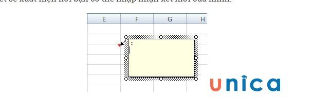 Cách tạo ghi chú trong Excel. Hình 6