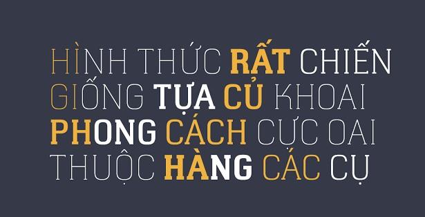 Font chữ viết tay Việt hóa