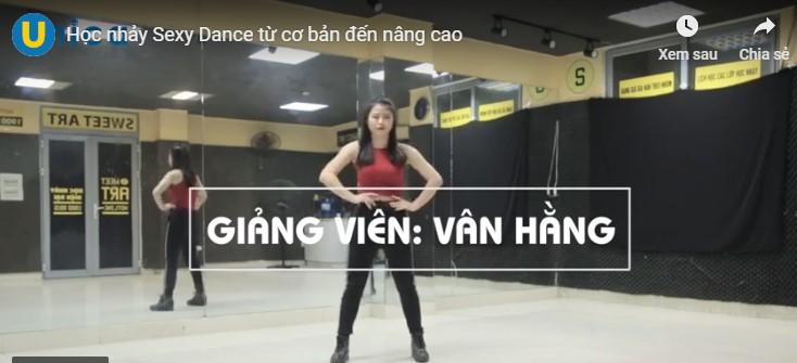 Top 2 khóa học sexy dance trên Unica