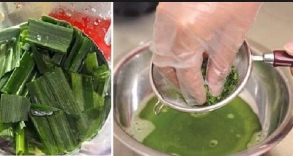 Cách làm bánh da lợn đậu xanh lá dứa