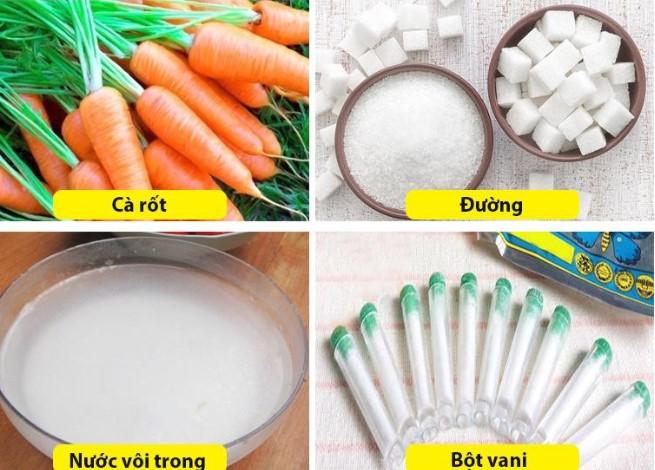 Cách làm mứt cà rốt