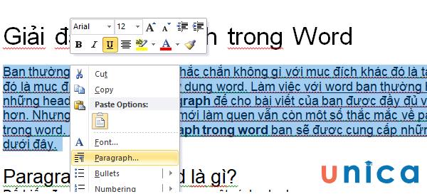 Căn chỉnh dãn chữ đều đặn trong word 4