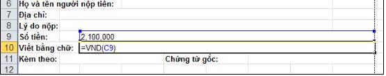 cách dùng hàm chuyến số thành chữ trong excel đơn giản