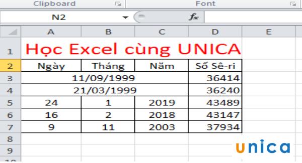 Cách sử dụng hàm datevalue chuyển đổi ngày tháng trong excel 6