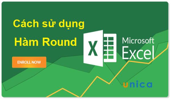 Cách sử dụng hàm Round trong Excel 1