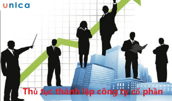 Thủ tục thành lập công ty cổ phần 1