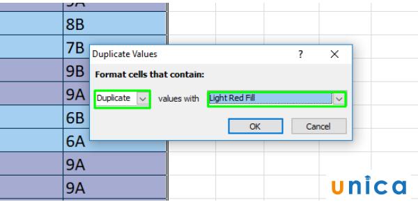Cách tìm lọc và xóa dữ liệu trùng lặp trong Excel 3