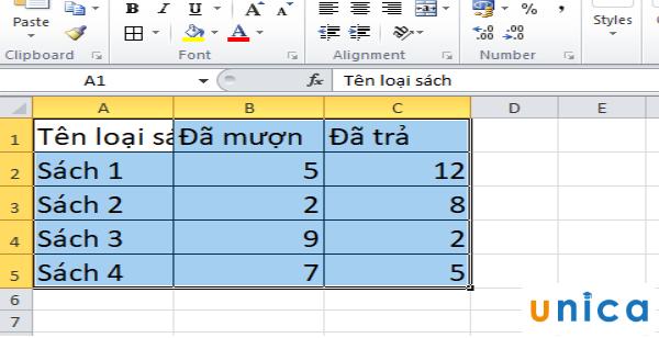 Cách vẽ biểu đồ cột chồng trong excel 3