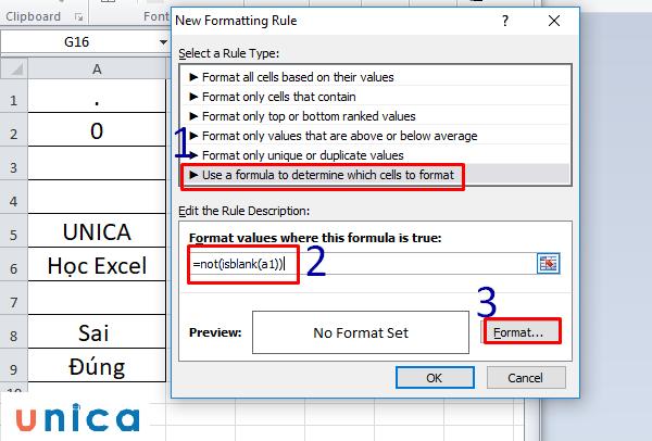 Cách sử dụng hàm countblank trong excel 5
