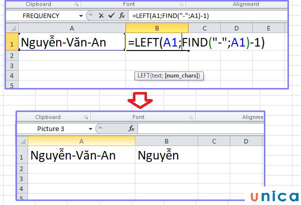 Cách sử dụng hàm Find trong excel 2