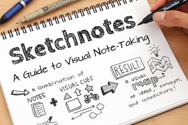 Làm quen với các công cụ để học sketchnote hiệu quả