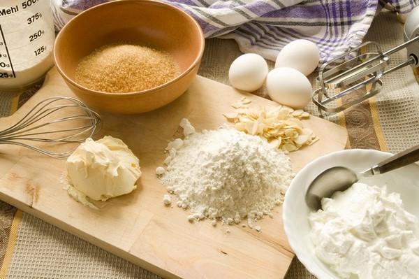 nguyên liệu làm bánh bao chay