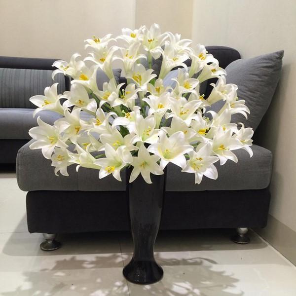 cách cắm hoa bình cao cổ đẹp nhất
