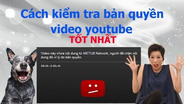 Cách đăng ký bản quyền video trên youtube nhanh nhất