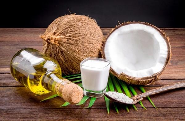 cách giảm cân bằng việc nấu ăn bằng dầu dừa