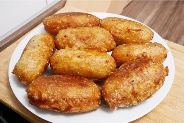cách làm bánh chuối chiên đơn giản