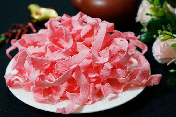 cách làm mứt dừa màu đỏ thơm ngon