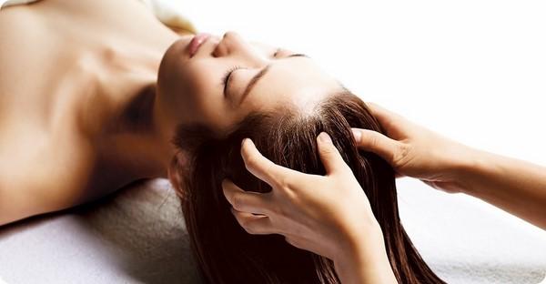 các cách massage đầu