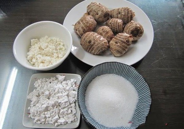cách nấu chè khoai môn nước cốt dừa tại nhà