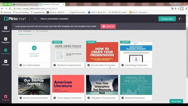 cách thiết kế Infographic bằng phần mềm online