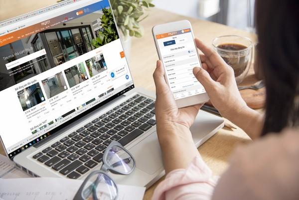 cách tìm mua nhà trên mạng